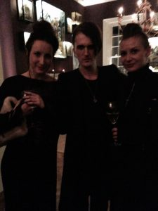 Faye Hindle, Gareth Pugh, and Elodie Laurent